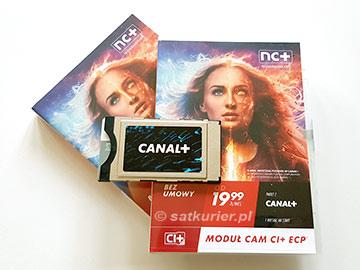 CAM CI+ 4K z ECP dla Platformy Canal+