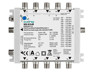 Multiswitch Axing SES 5216-06 (SCR)